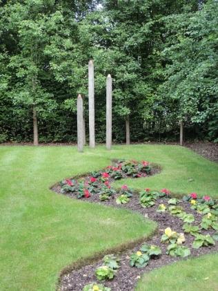 The pencil garden