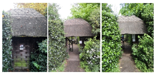 Three Seasons of Lych Gate Pictures (L-R) Auntum 2012, Spring 2013, Summer 2013 by Stephanie Woods