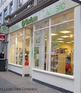 Oxfam Books & Music in Dundee