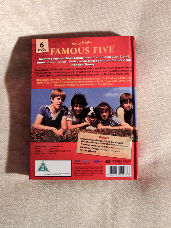 The Famous Five Complete DVD Box Set Review (6/6)