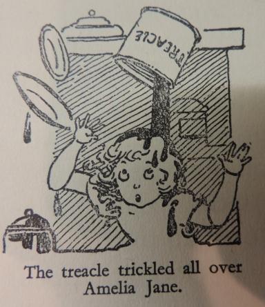 Amelia Jane and the treacle