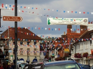 Marlow under Bunting by Stephanie Woods