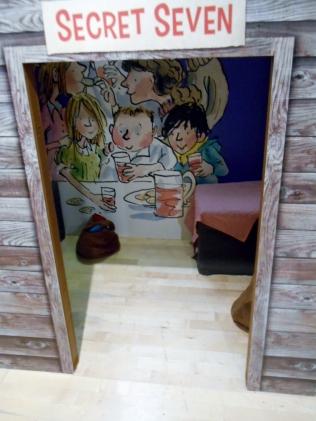 seven stories secret seven shed