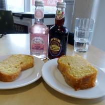 ginger beer and lemon cake seven stories