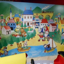 seven stories noddy wall