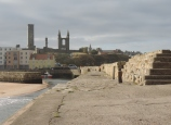 St Andrews cathedral from the pier