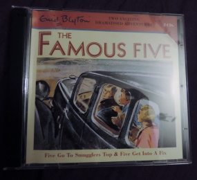famous five audio cd smuggler's top