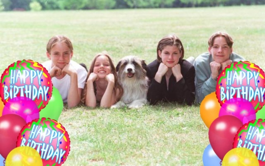 Happy Birthday to us, from the Famous Five