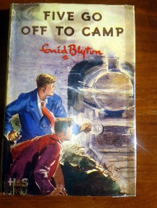 Five go off to Camp in its dustjacket.