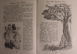 Original layout of illustrations