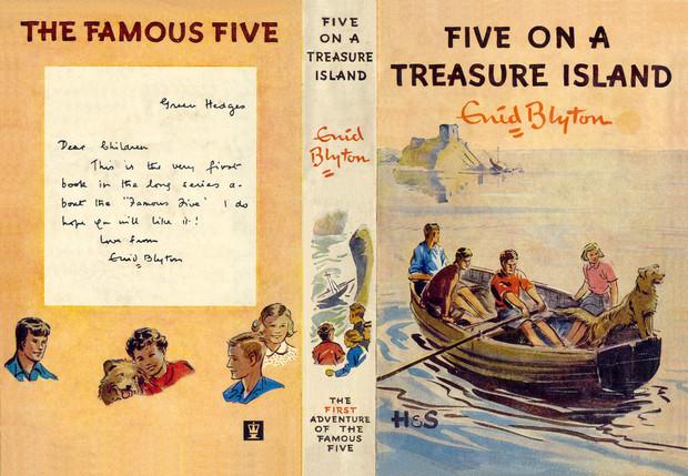 Five On A Treasure Island Chapter Summary