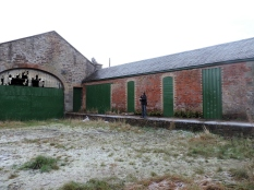 Newtyle's original railway station (1830s)