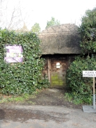 The entrance to Old Thatch