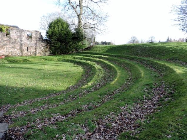 Outside of Mains Castle