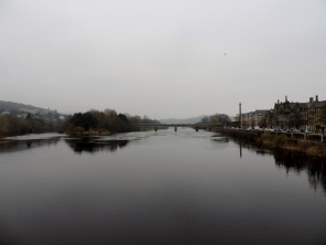 Looking downriver in Perth