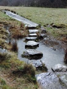 Stepping stones, Glen Nevis