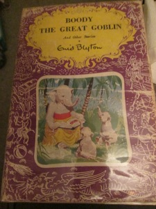 The First Edition Dust Jacket of Boody the Great Goblin and Other Stories.
