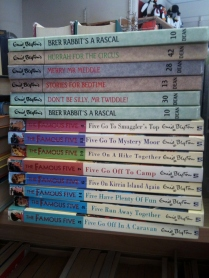 blyton books charity shop