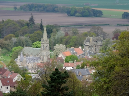 Falkland from above