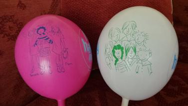 Secret Seven Balloons