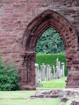 Graves at Arbroath Abbey