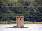19th century folly on Loch Rannoch