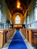 Inside Dunkeld Church