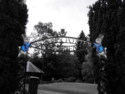 The Beatrix Potter garden
