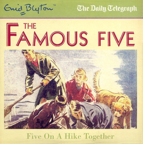 Five on a hike together audio