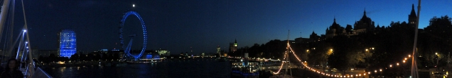 Panorama over the Thames