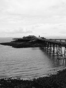 The Old Pier at Weston Super Mare