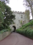 Entrance to Dunster Castle