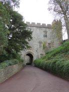 Entrance to Dunster Castle