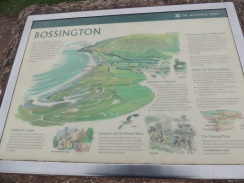 Map of Bossington and surrounding area