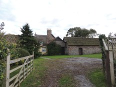 The back of Kirrin Cottage