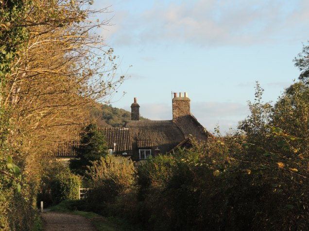Kirrin Cottage from down the lane.