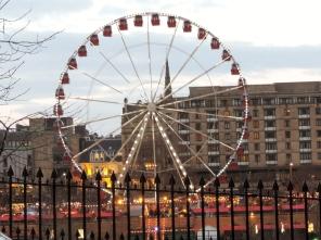 big wheel in Edinburgh