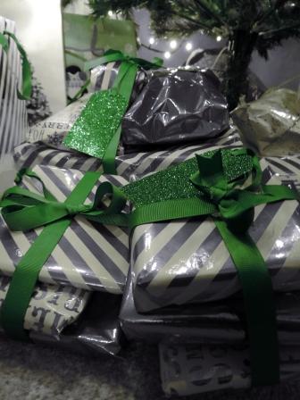 Green ribbons
