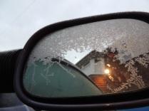 Iced mirror
