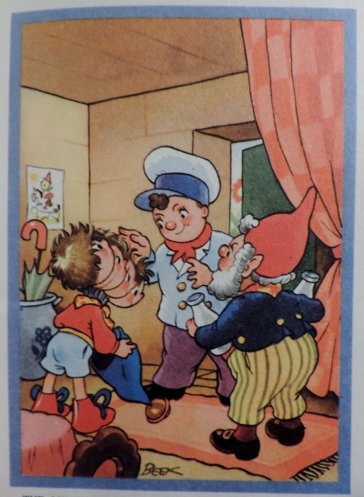 Noddy pays the milkman