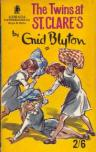 Cover of The Twins at St Clare's, 1963 Armada Paperback edition, by Mary Gernat. Note the 2/6 pricing.