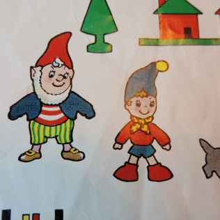 noddy fuzzy felts