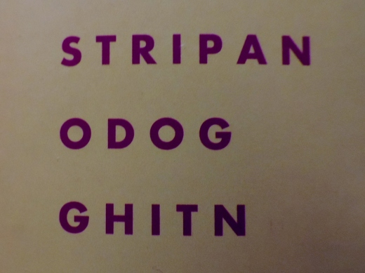 Odog? Ghitan? Ok so I solved those... but what the eck is Stripan?