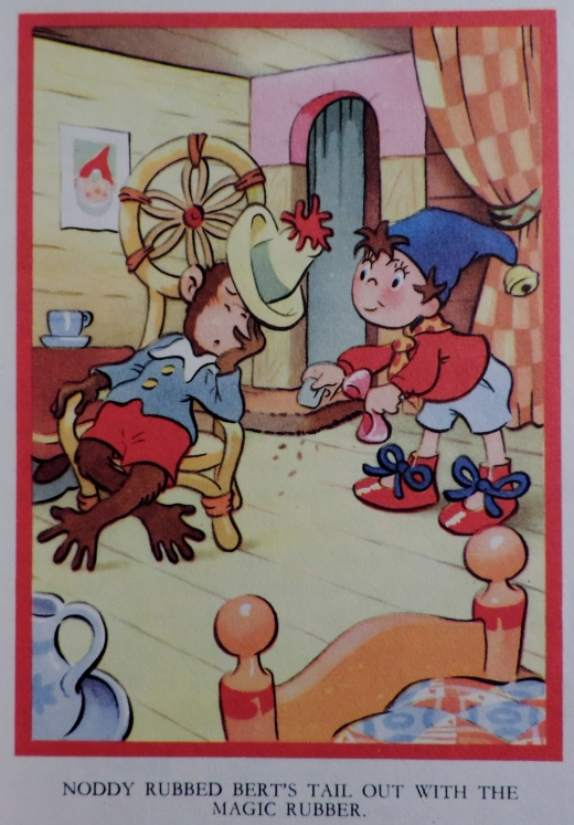 Noddy is very naughty