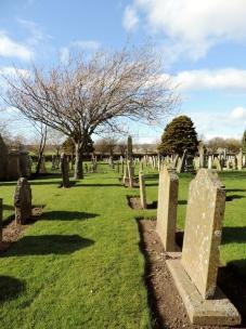 Panbride graveyard