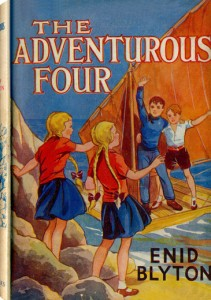 The Adventurous Four, 1st Edition Cover by E.H Davie