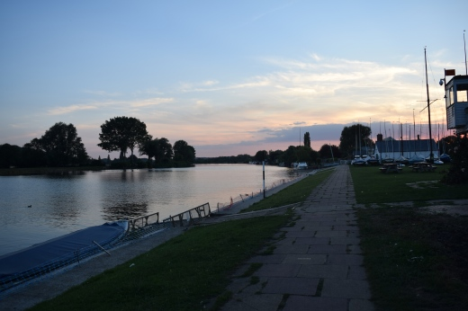 The River Thames at Bourne End.
