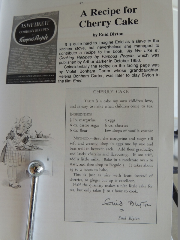 Making Blyton's Food: Cherry Cake (2/6)