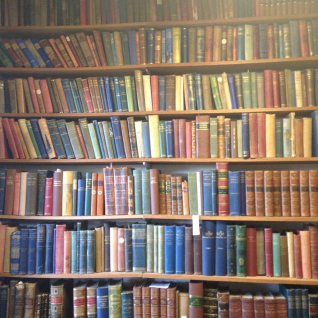 """The """"modern"""" collection in Innerpeffray Library"""