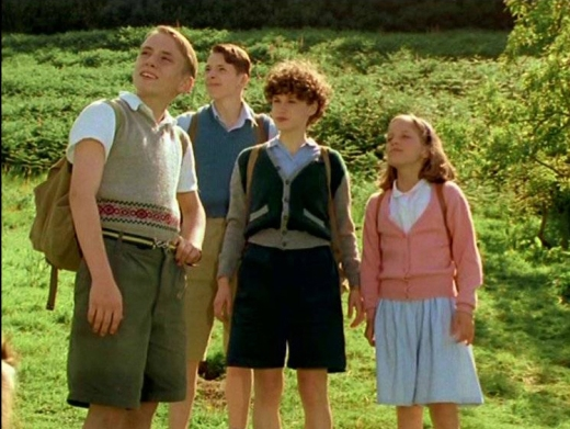 Paul Child as Dick, Marco Williamson as Julian, Jemima Rooper as George and Laura Petela as Anne